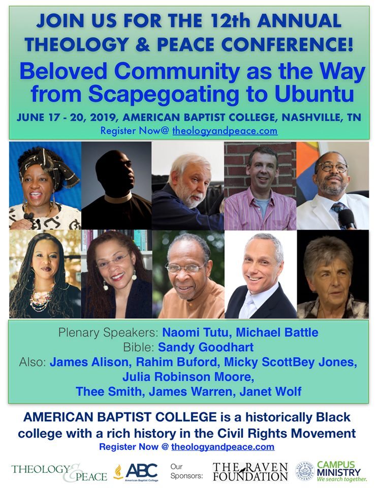 Conference: BELOVED COMMUNITY AS THE WAY FROM SCAPEGOATING TO UBUNTU